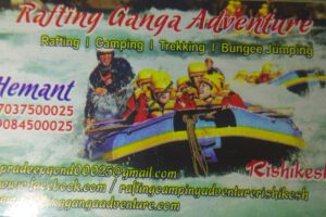 rafting ganga adventure