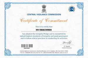 Certificate of Commitment